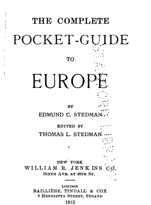 The Complete Pocket-guide to Europe