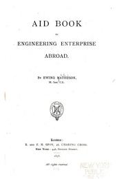 Aid Book to Engineering Enterprise Abroad: Part 1
