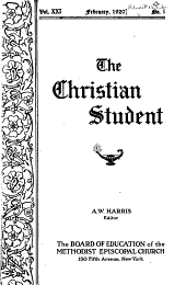 The Christian Student: Volume 21