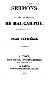 Sermons du révérend père de Mac Carthy