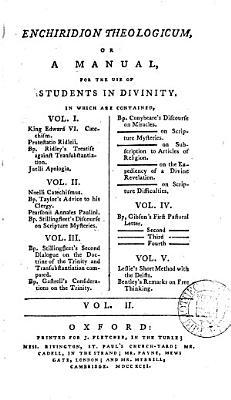 Enchiridion theologicum