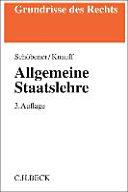 Allgemeine Staatslehre PDF