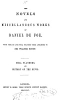 The novels and miscellaneous works of Daniel De Foe  with prefaces and notes PDF