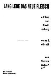 Lang lebe das neue Fleisch PDF
