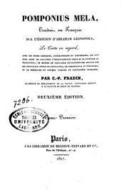 De situ orbis: Libri I-III, Volume1