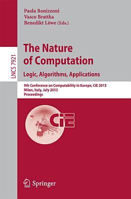 The Nature of Computation  Logic  Algorithms  Applications PDF