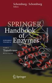 Class 2 Transferases: EC 2.1-2.7.10, Edition 2