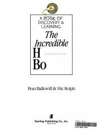 The Incredible Human Body Book