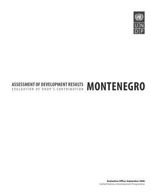 Assessment of Development Results   Montenegro PDF