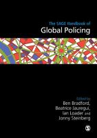 The SAGE Handbook of Global Policing PDF