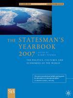 The Statesman s Yearbook 2007 PDF