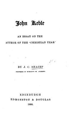 John Keble PDF
