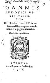 De disciplinis libri XX