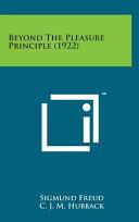 Beyond the Pleasure Principle  1922