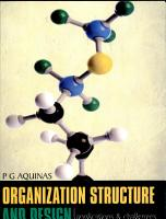 Organization Structure   Design   Applications And Challenges PDF