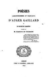 Poésies languedociennes et françaises