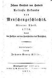 Johann Gottfried von Herder's sämmtliche werke ...: Zur Religion und Theologie (18 v. in 9)