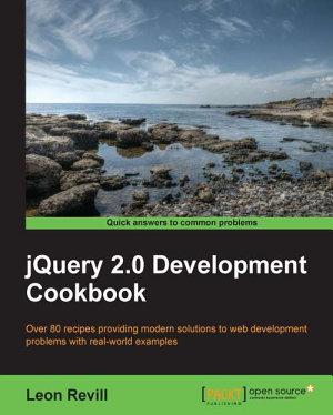 jQuery 2 0 Development Cookbook