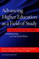 Advancing Higher Education as a Field of Study PDF