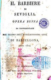 Il Barbiere di Seviglia: opera buffa