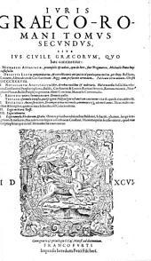 Ius Graeco-Romanum tam canonicum quam civile: Τόμος 2
