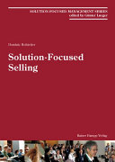 Solution-Focused Selling