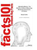 Marketing Metrics, The Definitive Guide to Measuring Marketing Performance