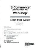E commerce Construction Kit  Webshop