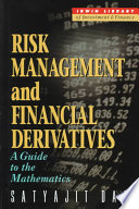 Risk Management and Financial Derivatives