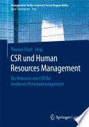CSR und Human Resource Management