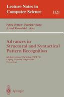 Advances in Structural and Syntactical Pattern Recognition