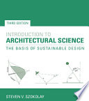 Introduction to Architectural Science Book