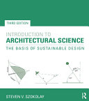 Pdf Introduction to Architectural Science Telecharger