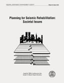 Planning for Seismic Rehabilitation
