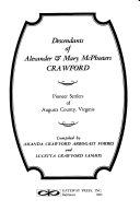 Descendants Of Alexander Mary Mcpheeters Crawford