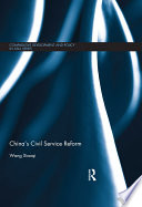 China S Civil Service Reform