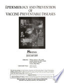 Epidemiology And Prevention Of Vaccine Preventable Diseases