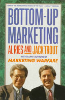 Bottom-up Marketing Book Cover