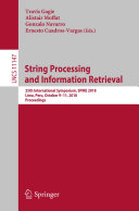 Pdf String Processing and Information Retrieval