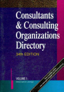 Consultants Consulting Organizations Directory Book PDF