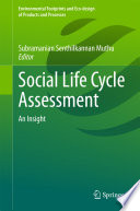 Social Life Cycle Assessment Book PDF