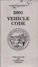 2001 Vehicle Code Through The 2000 Legislative Session