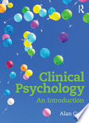 """""""Clinical Psychology: An Introduction"""" by Alan Carr"""