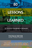 80 Lessons Learned