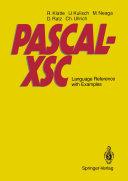 Pdf PASCAL-XSC Telecharger