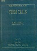 Handbook of Stem Cells