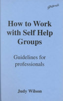 How To Work With Self Help Groups