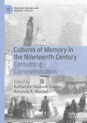 Cultures of Memory in the Nineteenth Century Pdf/ePub eBook