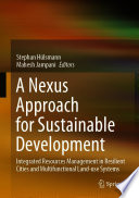 A Nexus Approach for Sustainable Development