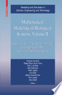 Mathematical Modeling of Biological Systems  Volume II